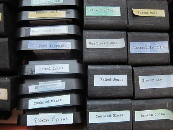 distress ink storage