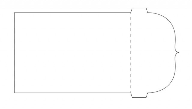 free svg pocket page template