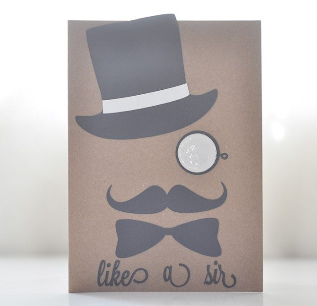 gentleman card