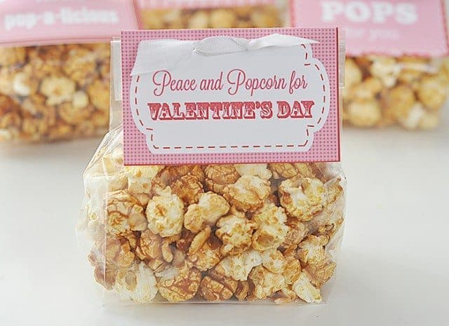 free popcorn printable