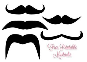 Peaceful image with regard to mustache templates printable