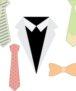 Fathers Day necktie SVG