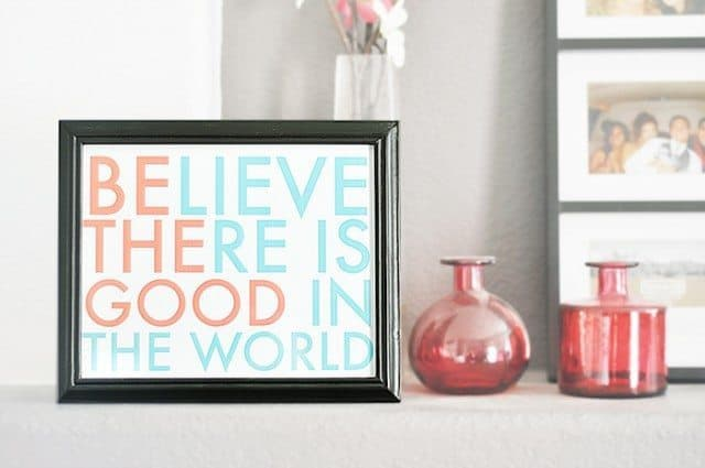 free printable home decor
