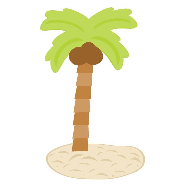 free palm tree svg