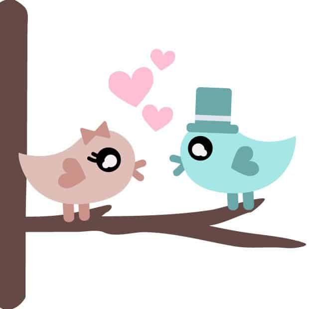 free love birds svg