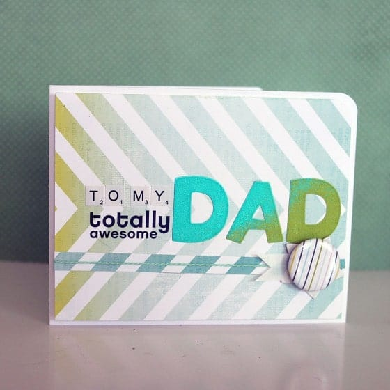Handmade Fathers Day Card Inspiration
