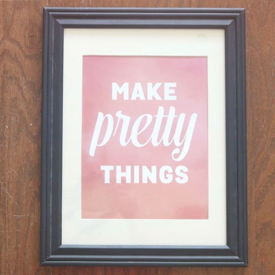 Make Pretty Things Printable