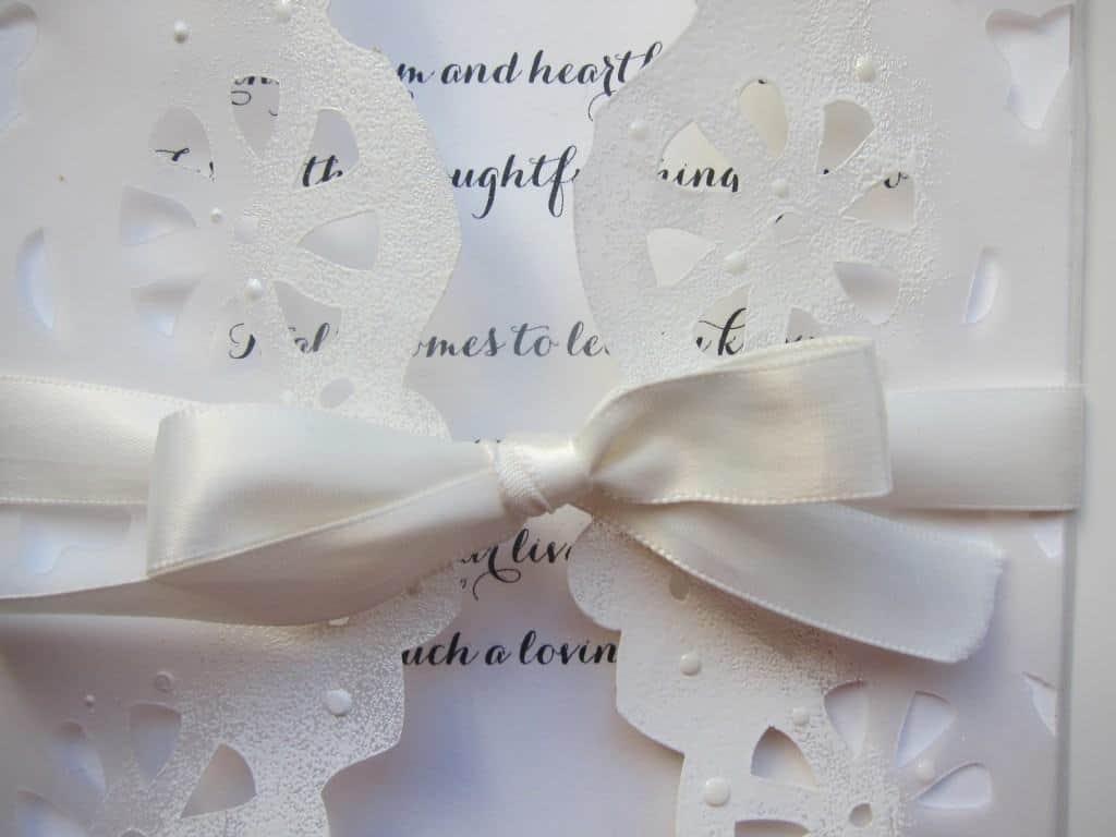 how to make a wedding invitation