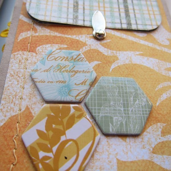 scrapbooking hexagons