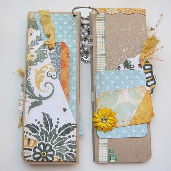 Scrapbook mini album page ideas