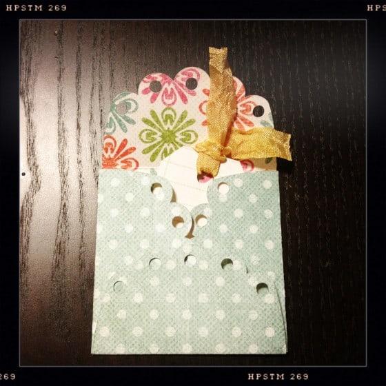 Scallop Envelope Die Cut