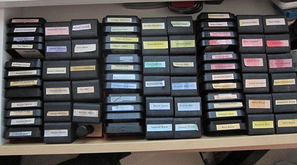 ink pad storage