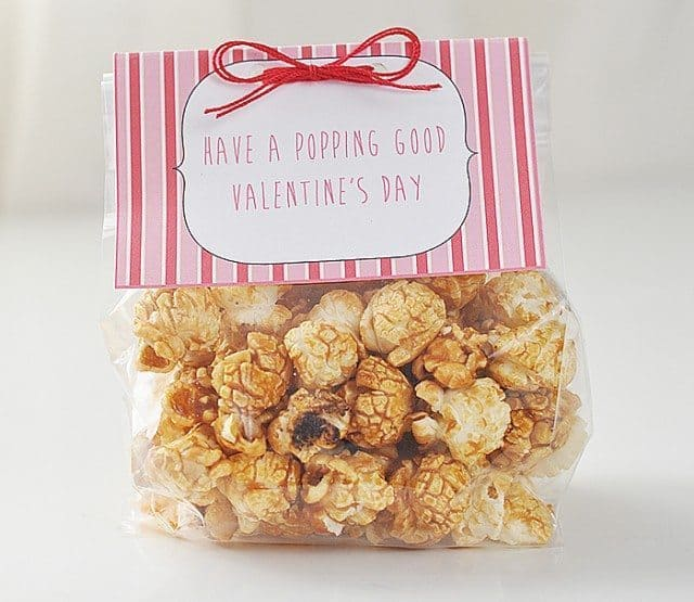 printable popcorn label