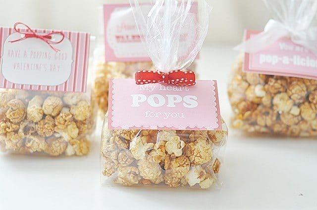 free pritnable popcorn label