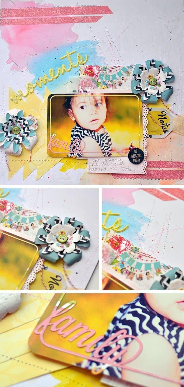 watercolor scrapbook