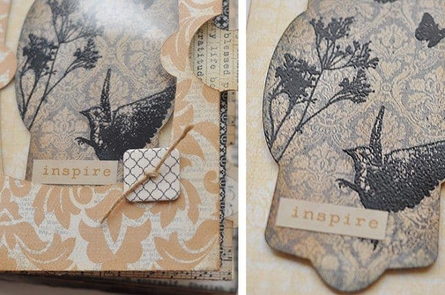 embossed-mini-album-scrapbook-page