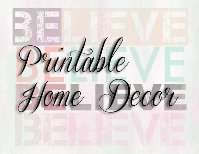 Free Printable Home Decor - Be The Good In The World