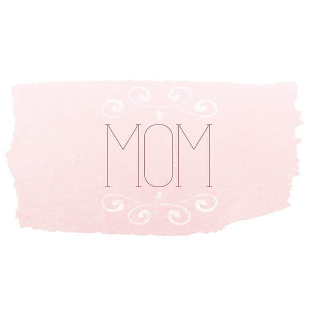 Printable Mom Card