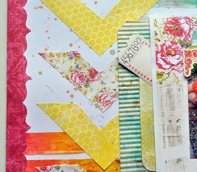 mix and match paper layout