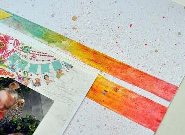 rainbow scrapbook emblishments