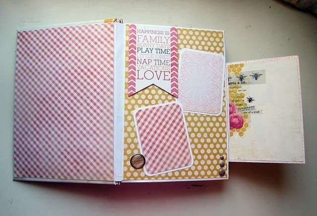 mini album scrapbook