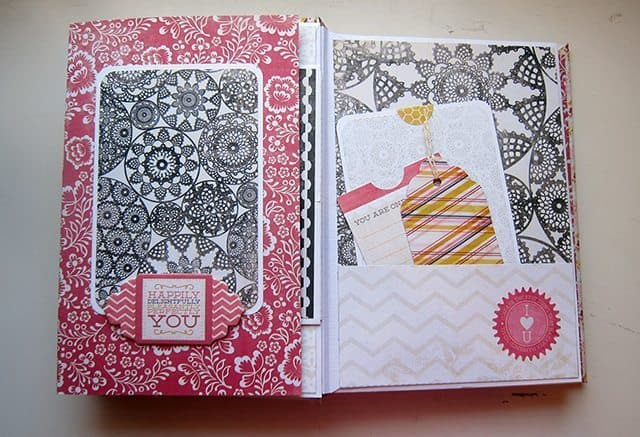 scrapbooking mini album