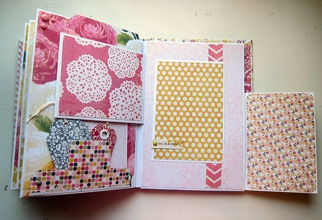 handmade mini album