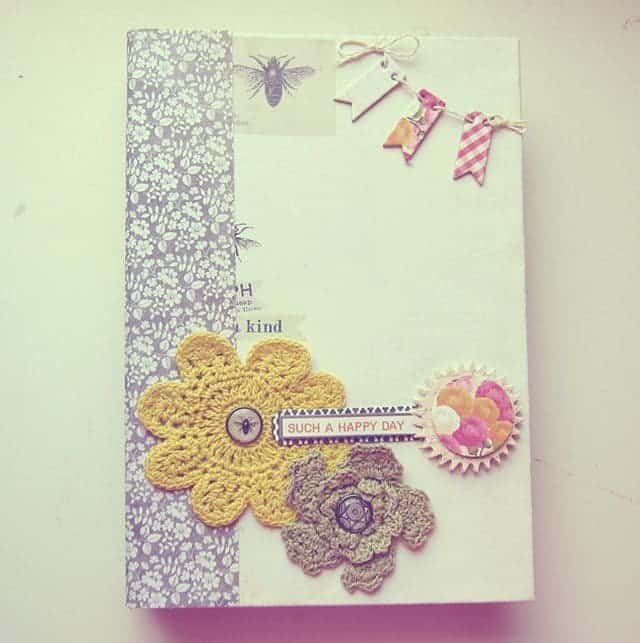 mini scrapbook album