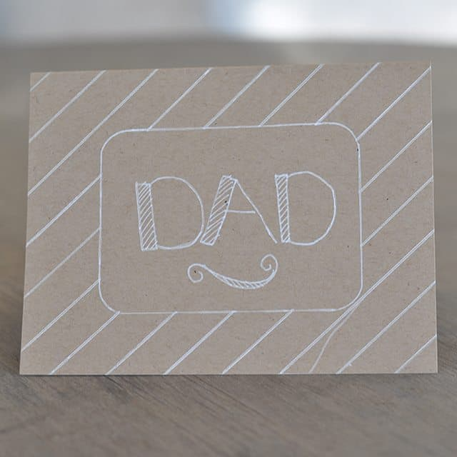 how to make an easy fathers day card