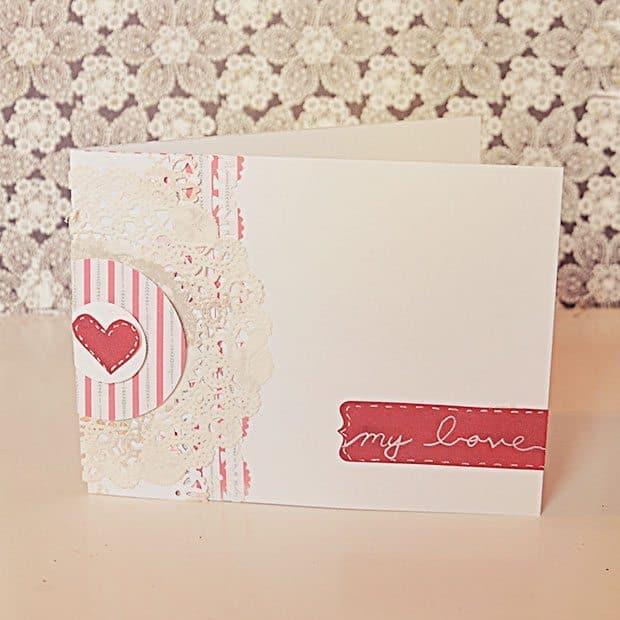 Valentine's Day Card Tutorial