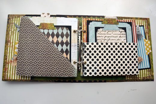 mini-album-pocket-page