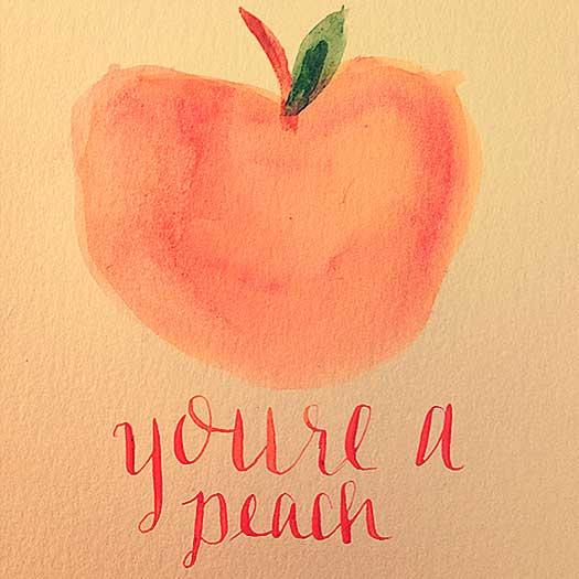 your-a-peach