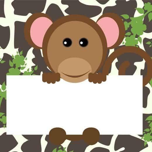 Free Printable Jungle Birthday Card