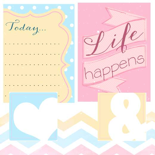 Witty image with free printable scrapbook cutouts