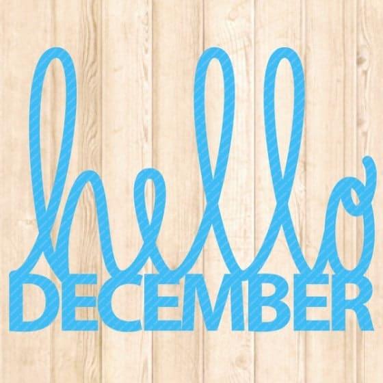 hello-december-svg-cut-file