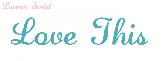 Best Cutable Cursive Fonts for Silhouette and Eclips
