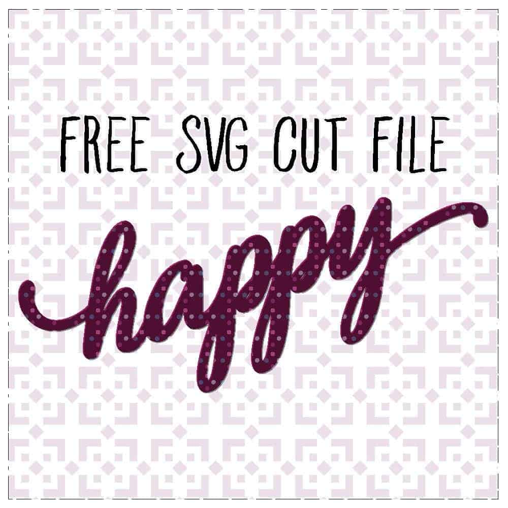 Free Happy SVG