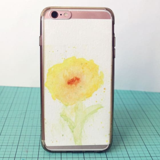 Art DIY phone case