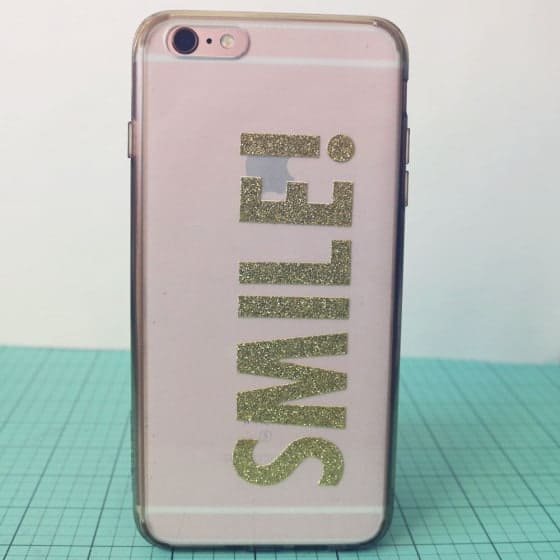 DIY Sticker iPhone Cover