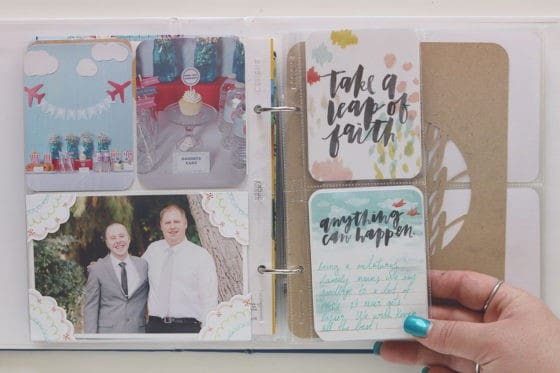 6x8 Project Life Layout | LovePaperCrafts.com
