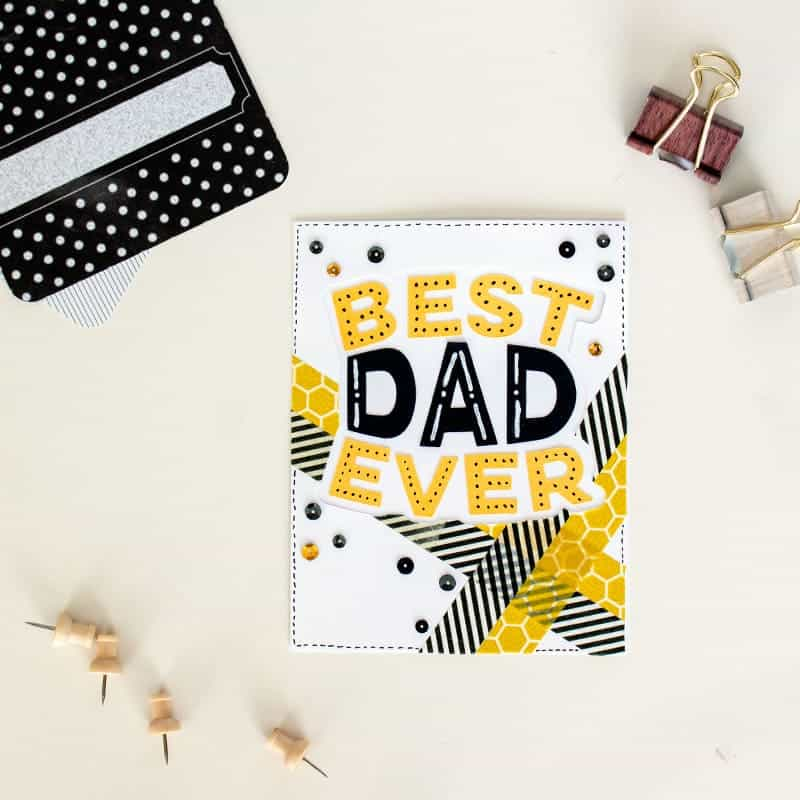 Father's Day SVG Card | LovePaperCrafts.com