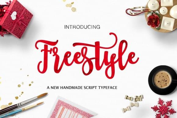 Freestyle Cuttable Script Font | LovePaperCrafts.com