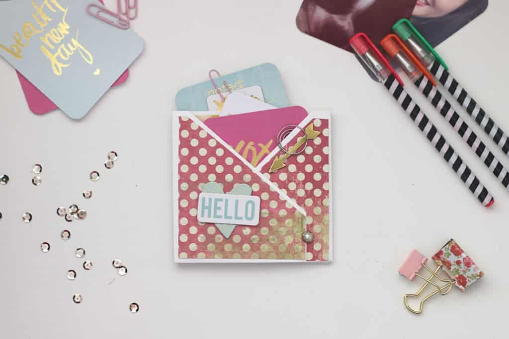 Pocket Sized Mini Album | LovePaperCrafts.com