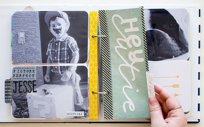Project Life 6x8 Half Page Layout | LovePaperCrafts.com