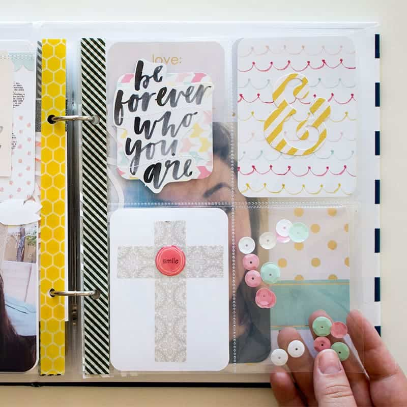 Project Life Layout Inspiration | LovePaperCrafts.com