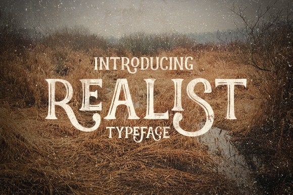 Realist Cuttable Font | LovePaperCrafts.com