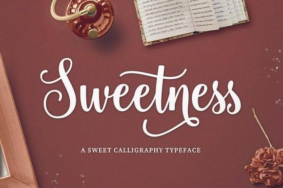 Sweetness Cuttable Script Font | LovePaperCrafts.com