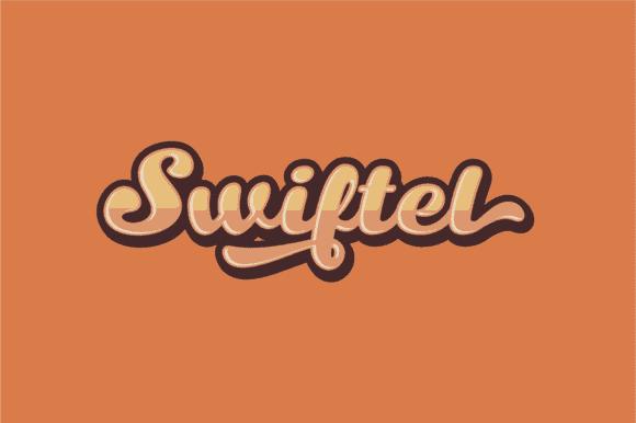 Swiftel Cuttable Script Font | LovePaperCrafts.com
