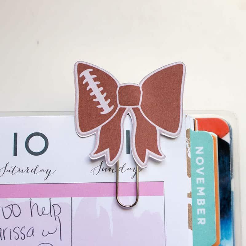 DIY Custom Planner Paperclips from Clip Art | LovePaperCrafts.com