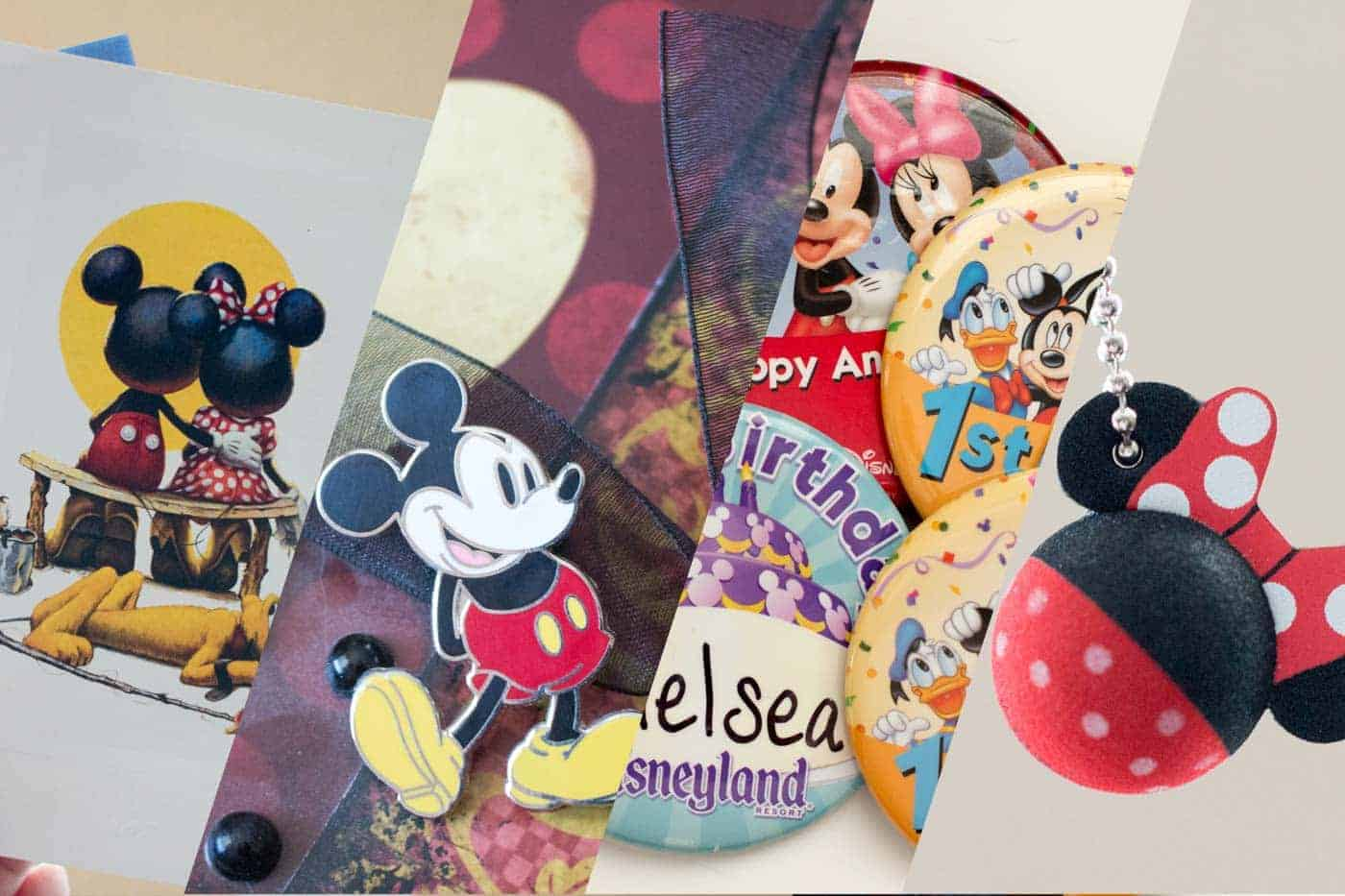 Best Cheap Disneyland Souvenirs for Scrapbooking | LovePaperCrafts.com